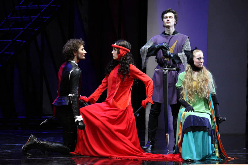 Школа Драматического Искусства. Спектакль «Роза и крест»